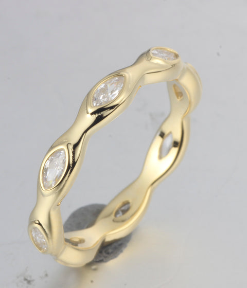 Marquise Stacking Band - Sonia Danielle