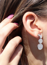 Pebble CZ Earrings - Sonia Danielle