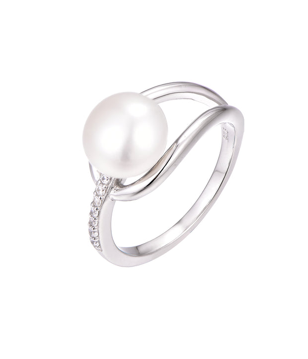 Pearl Loop Ring - Sonia Danielle