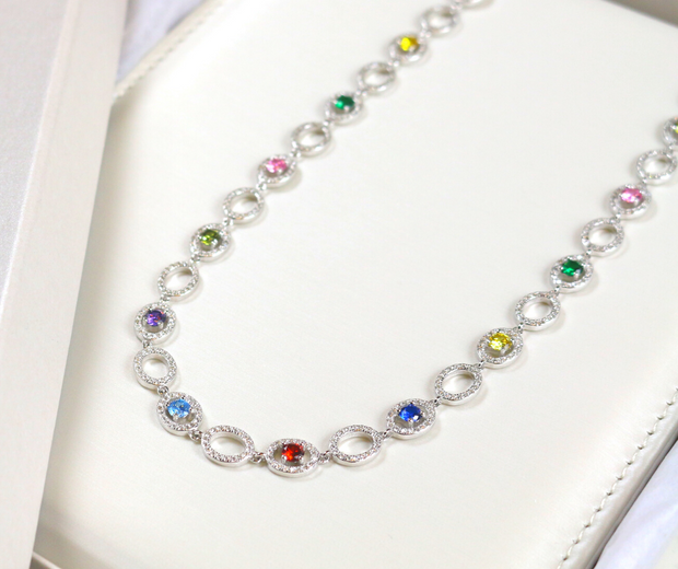 Rainbow Necklace - Sonia Danielle