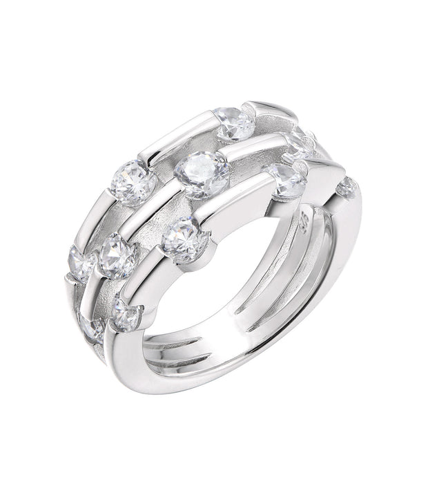 3-Row Orbit Ring - Sonia Danielle