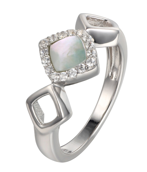 Diamond Link Ring - Sonia Danielle
