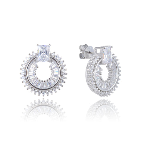 Celestial Circle Earrings - Sonia Danielle
