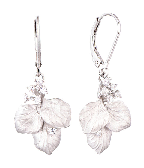 Matte Leaf Earrings - Sonia Danielle