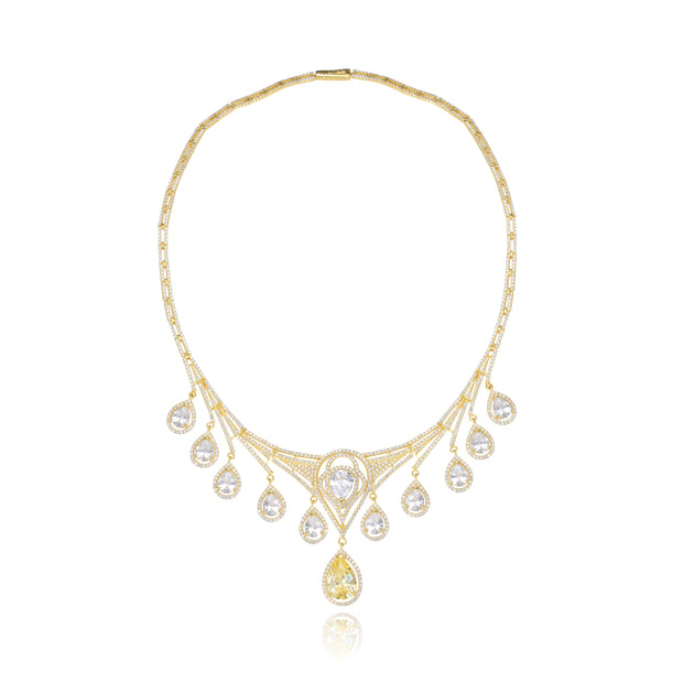 The Vintage Art  Deco Necklace - Sonia Danielle
