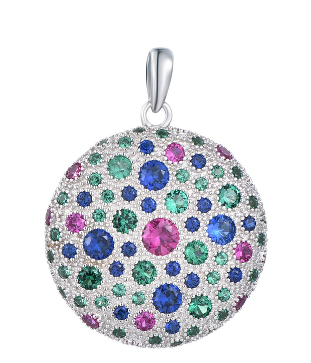 Multi-Coloured Disco Pendant - Sonia Danielle