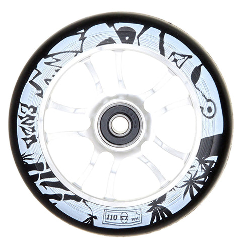 AO Enzo Commeau Sig Wheel - 110mm - Black on Chrome