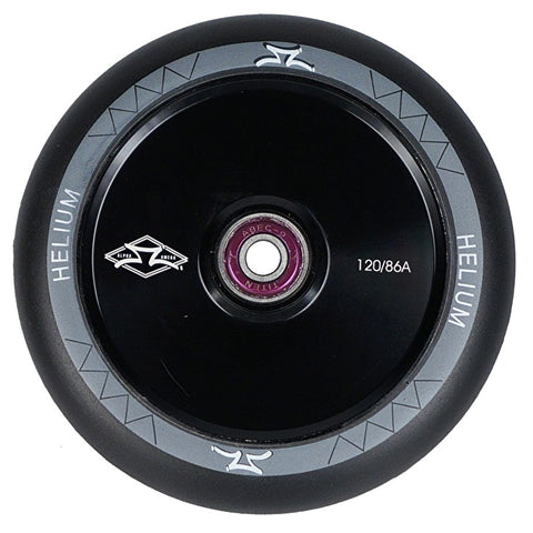 AO Helium 120mm Scooter Wheel - Black