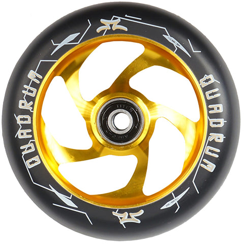 Ao Scooters Quadrum 110mm Scooter Wheel Gold Pro