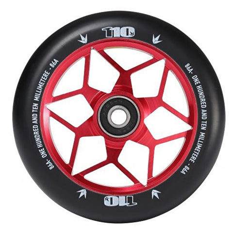 Blunt Envy Diamond 110mm Scooter Wheel - Red