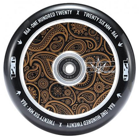 Blunt Envy 120mm Hollow Scooter Wheels- Bandana Gold