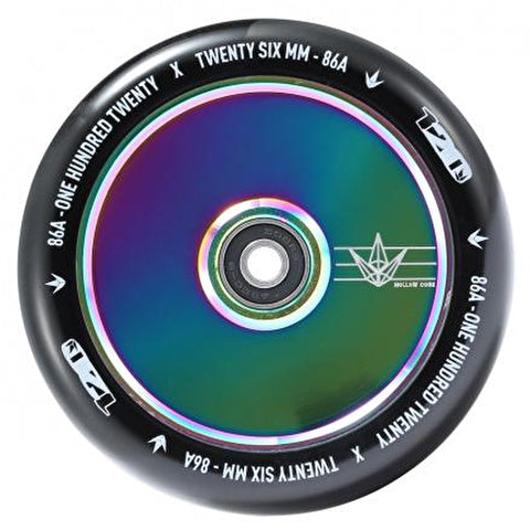 Blunt Envy 120mm Hollow Scooter Wheel - Neochrome