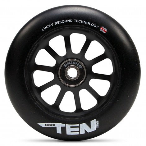 Lucky Ten 110mm Scooter Wheel - Black/Black