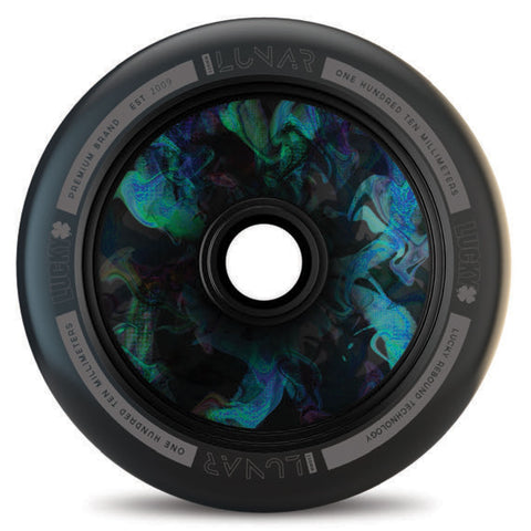 Lucky Scooters Lunar Hollow Core 110mm Wheels  - SuperNova