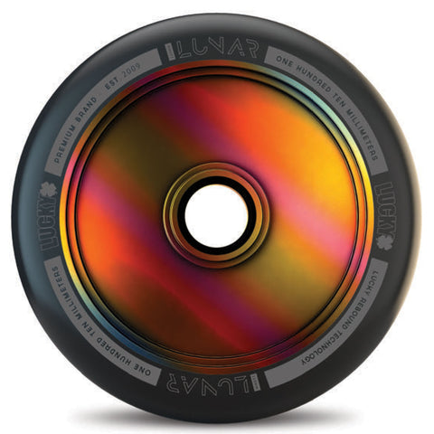 Lucky Scooters Lunar Hollow Core 110mm Wheels X2 - NeoChrome