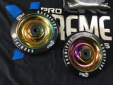 Sacrifice Oil Slick 110mm Scooter Wheels - Neochrome