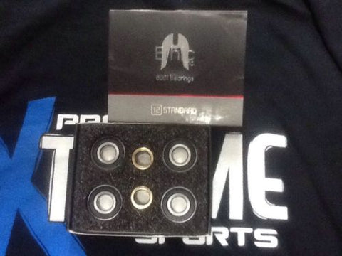 ETHIC 12 STANDARD WHEEL BEARINGS X 4 PLUS SPACERS