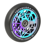 Oath Bermuda 110mm Stunt Scooter Wheels - Blue / Purple / Titanium
