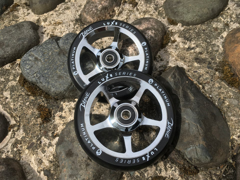 Drone Luxe 110mm Stunt Scooter Wheels X2 - platinum
