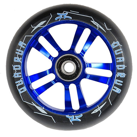 AO Quadrum 100mm Scooter Wheel - Blue