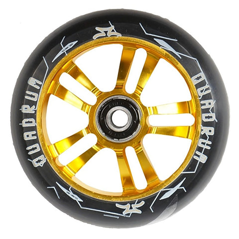 AO Quadrum 100mm Scooter Wheel - Gold