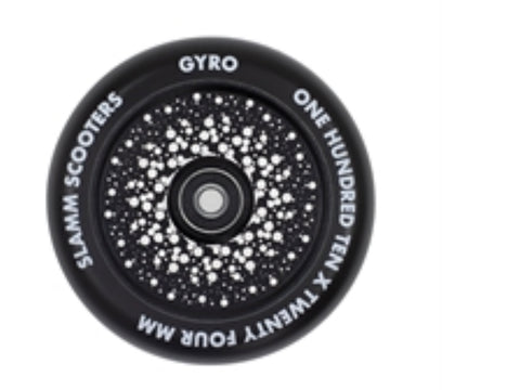 Slamm Gyro Hollow core 110mm Scooter Wheels (sold in pairs )