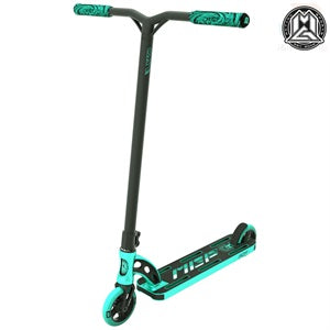 "MGP VX9 TEAM EDITION 4.5"" COMPLETE STUNT SCOOTER-TURQUOISE"