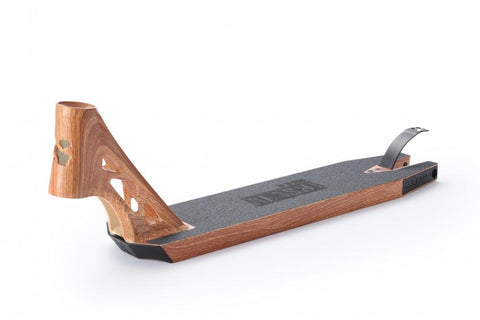 Sacrifice Akashi 115 Stunt Scooter Deck - Wood Grain
