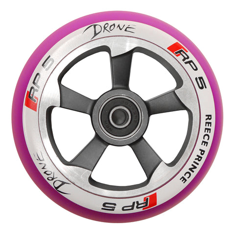 Drone RP5 Scooter Wheels X2 - Purple Chrome