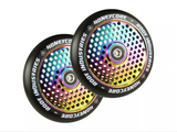 Root Industries Air Honeycore 110mm Scooter Wheels X2  -  Black Neochrome