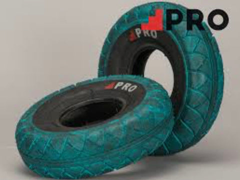 Rocker Mini Bmx Pro Street Tyres - Blue Black - X 2