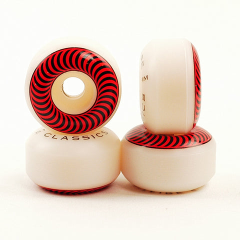 Spitfire Classics Red / Black 99DU - 51mm Skateboard Wheels