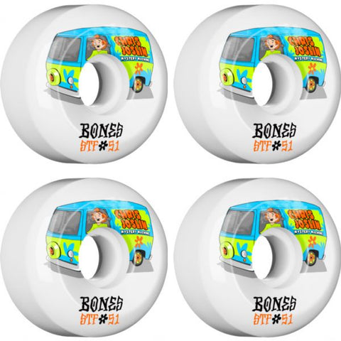 Bones Chris Joslin STF Shaggy 83b - 51mm Skateboard Wheels