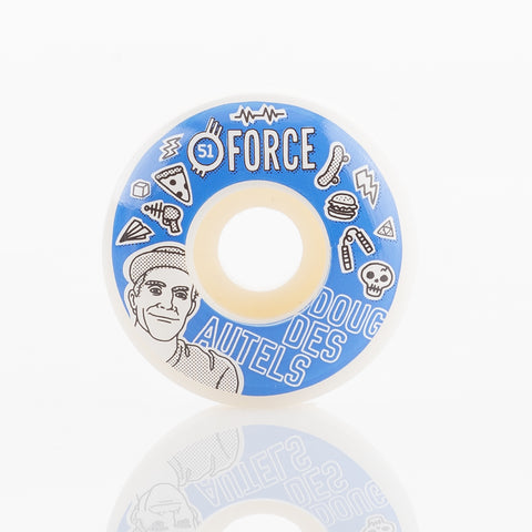 Force Doug Des Autels 99A - 51mm Skateboard Wheels