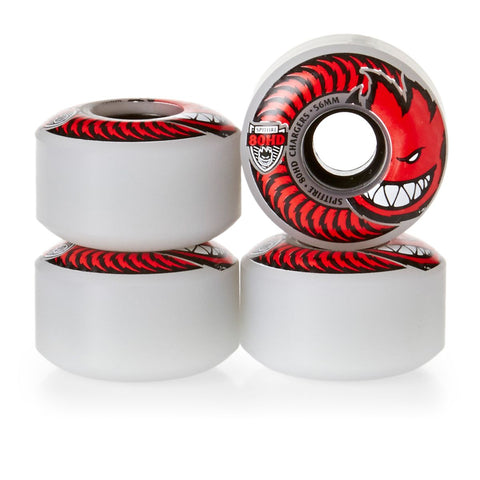 Spitfire Classic Chargers Clear 80DU - 56mm Skateboard Wheels