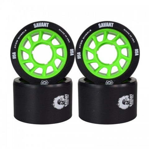 Atom Savant Roller Derby Wheels 95A - 59mm