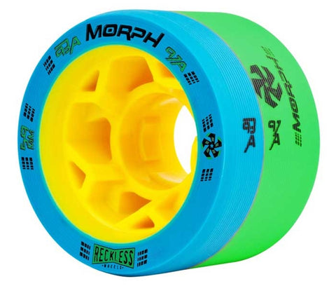 Reckless Morph Quad Wheels 93 / 97 - 59mm  Roller Derby Wheels