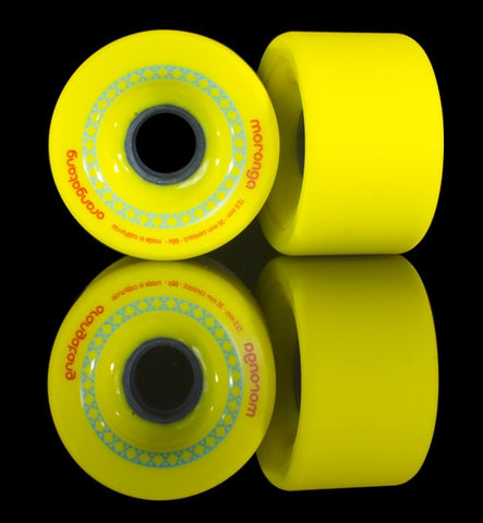 Orangatang moronga 86A - 72.5mm Longboard Wheels
