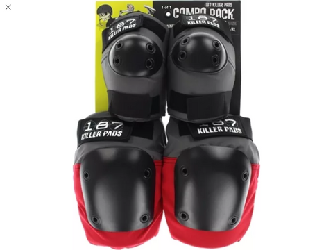 187 Killer Pro Pad Set Elbow And Knee Protection Guards