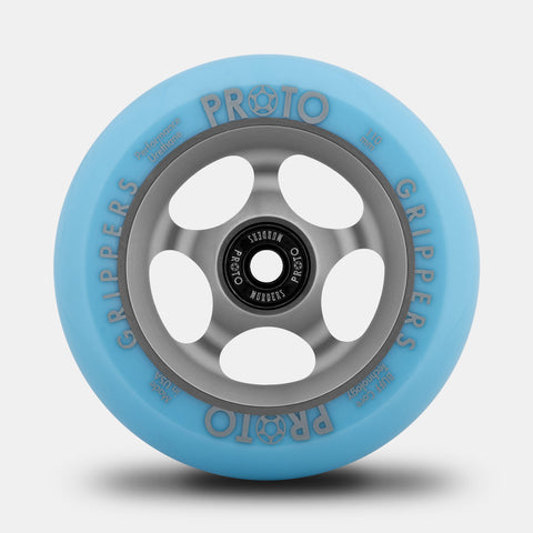 Proto Grippers Faded Series - Pastel Blue on Ghost Grey