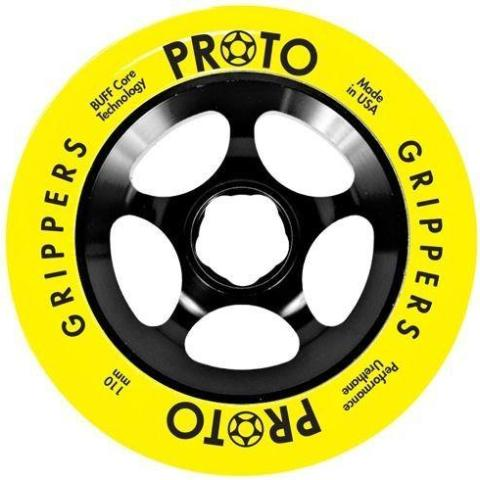 Proto Gripper Wheels 110mm - Day-Glo