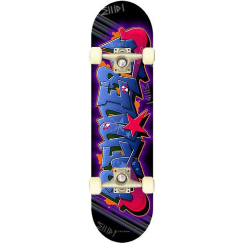 Renner A Series Complete Skateboard - Blue Graffiti