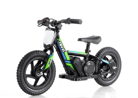 Revvi 12 Inch Electric Balance Bike - Green