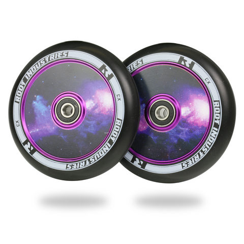 Root Industries Air Wheels 110mm | Black Galaxy