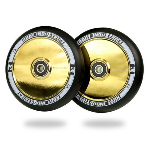 Root Industries Air Wheels 110mm | Black/Gold