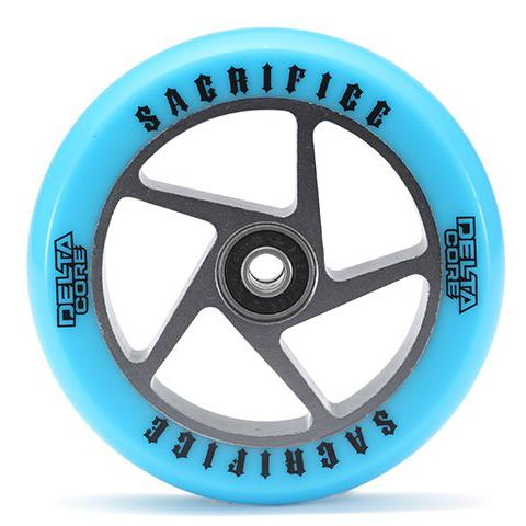 Sacrifice Delta Core Wheel – Blue Polished