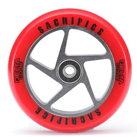 Sacrifice Delta Core Wheel – Red Titanium