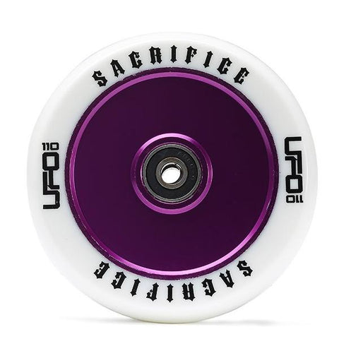 Sacrifice UFO Wheel – White Purple 110mm