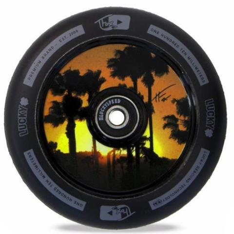 Lucky Scooters Tanner Fox Signature 110mm Scooter Wheels - Black