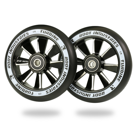 Root Industries Turbine Wheels 110mm | Black / Black